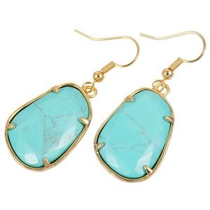 Anthropologie healing stone earrings